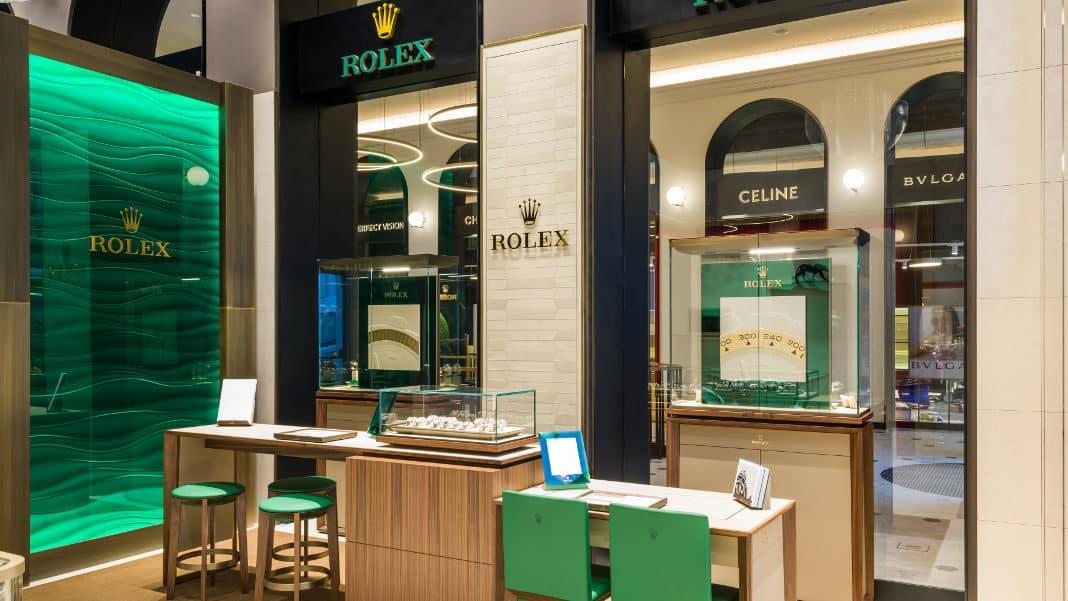 ROLEX store Warsaw at Raffles Europejski
