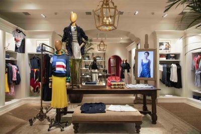 Ralph Lauren store in Delhi at The Chanakya Mall (India)