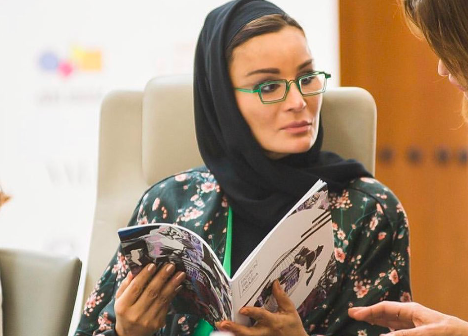 HRH Sheikha Moza bint Nasser - Fashion Trust Arabia
