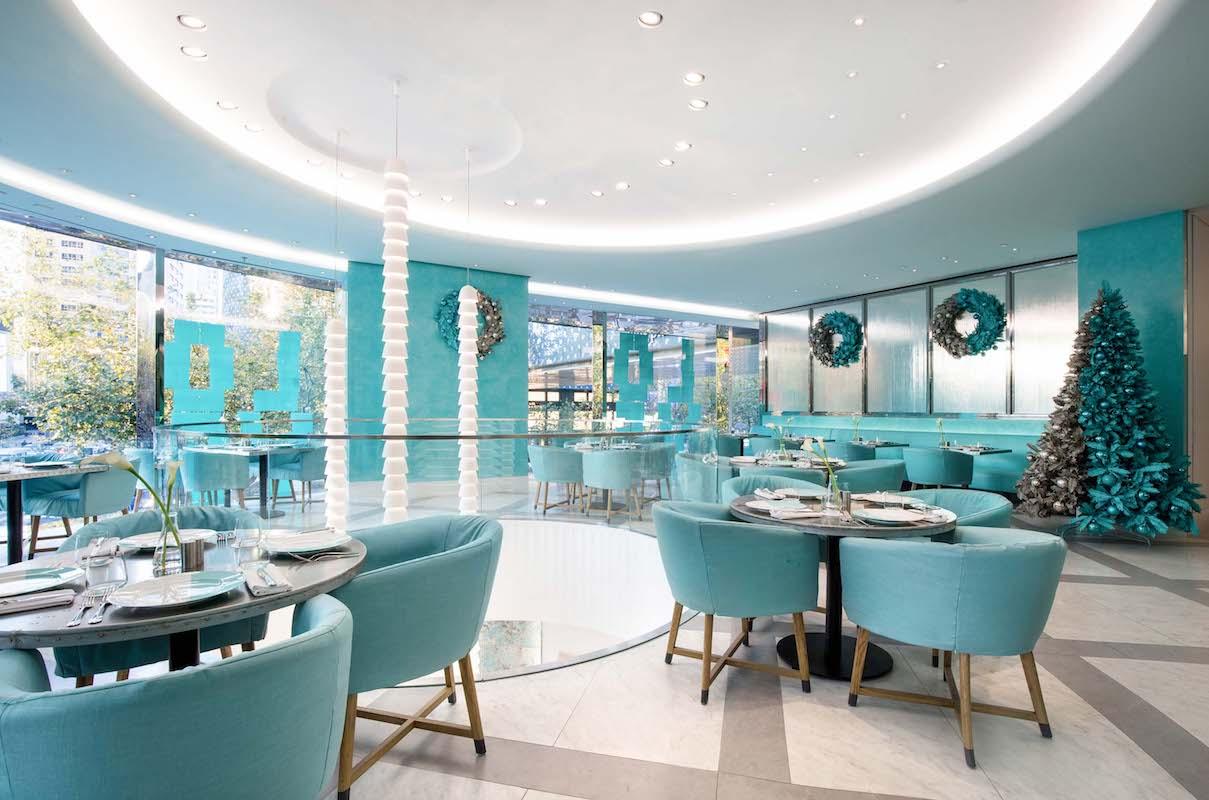 Tiffany & Co Shanghai - Blue Box Cafe