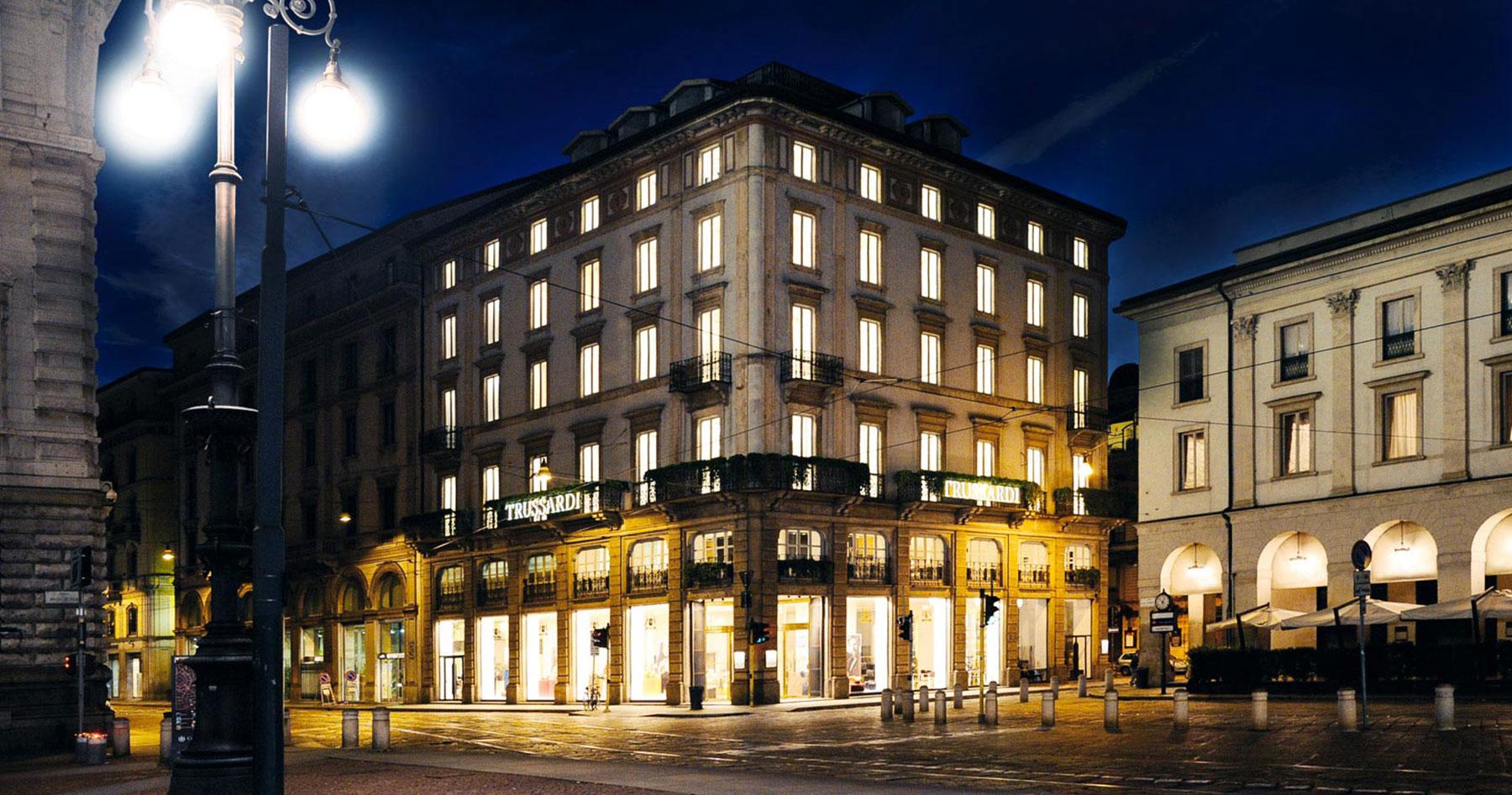 Trussardi flagship store Milan