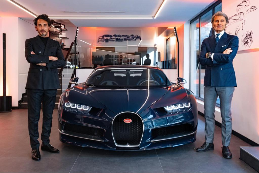 Bugatti opens new showroom in Paris at Neuilly-sur-Seine