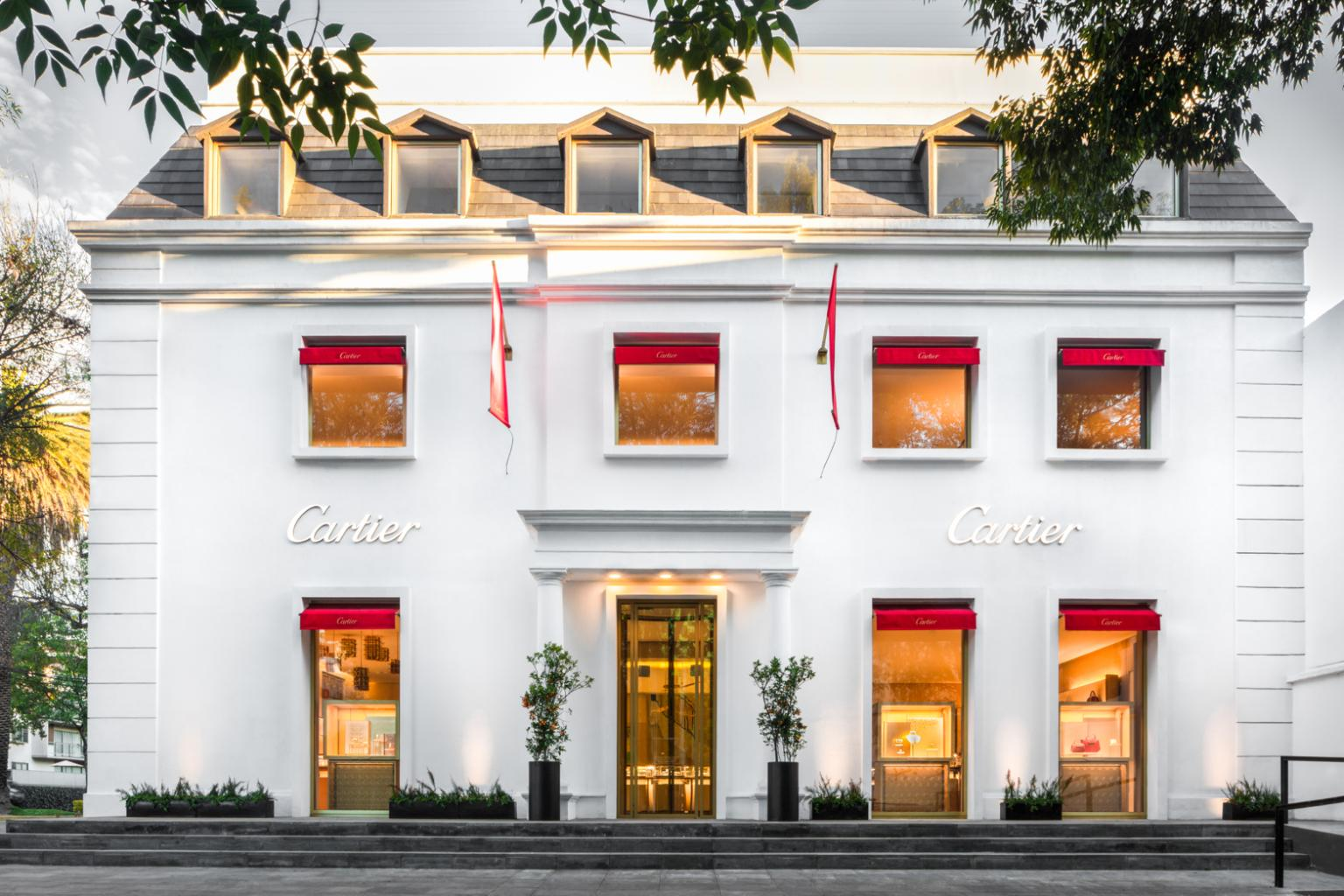 Cartier new store Mexico City at Masaryk