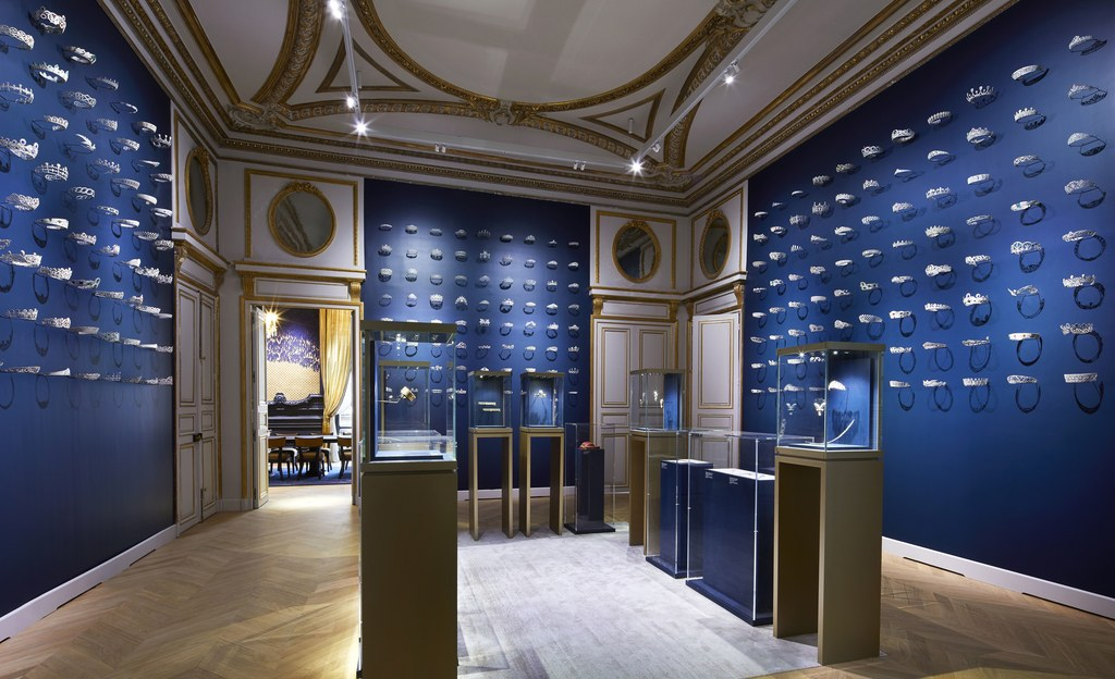 Chaumet newly renovated flagship at 12 Place Vendome in Paris