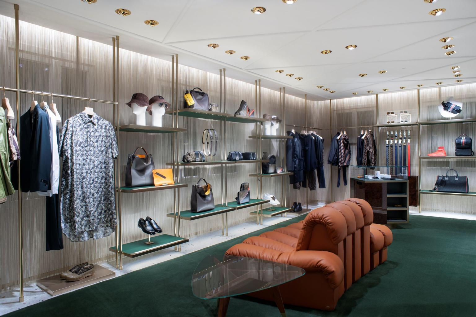 FENDI new boutique in Venice at San Marco district