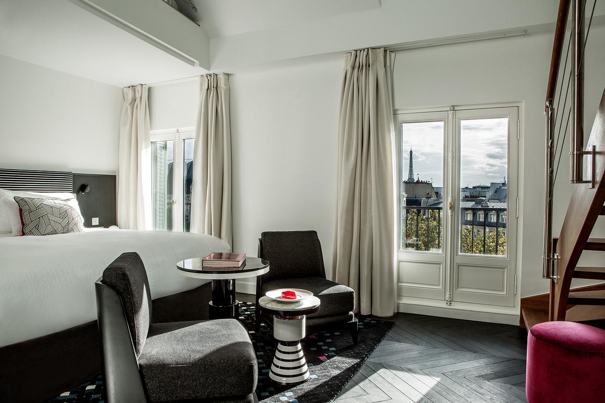 Fauchon L'Hotel Paris - Duplex Suite