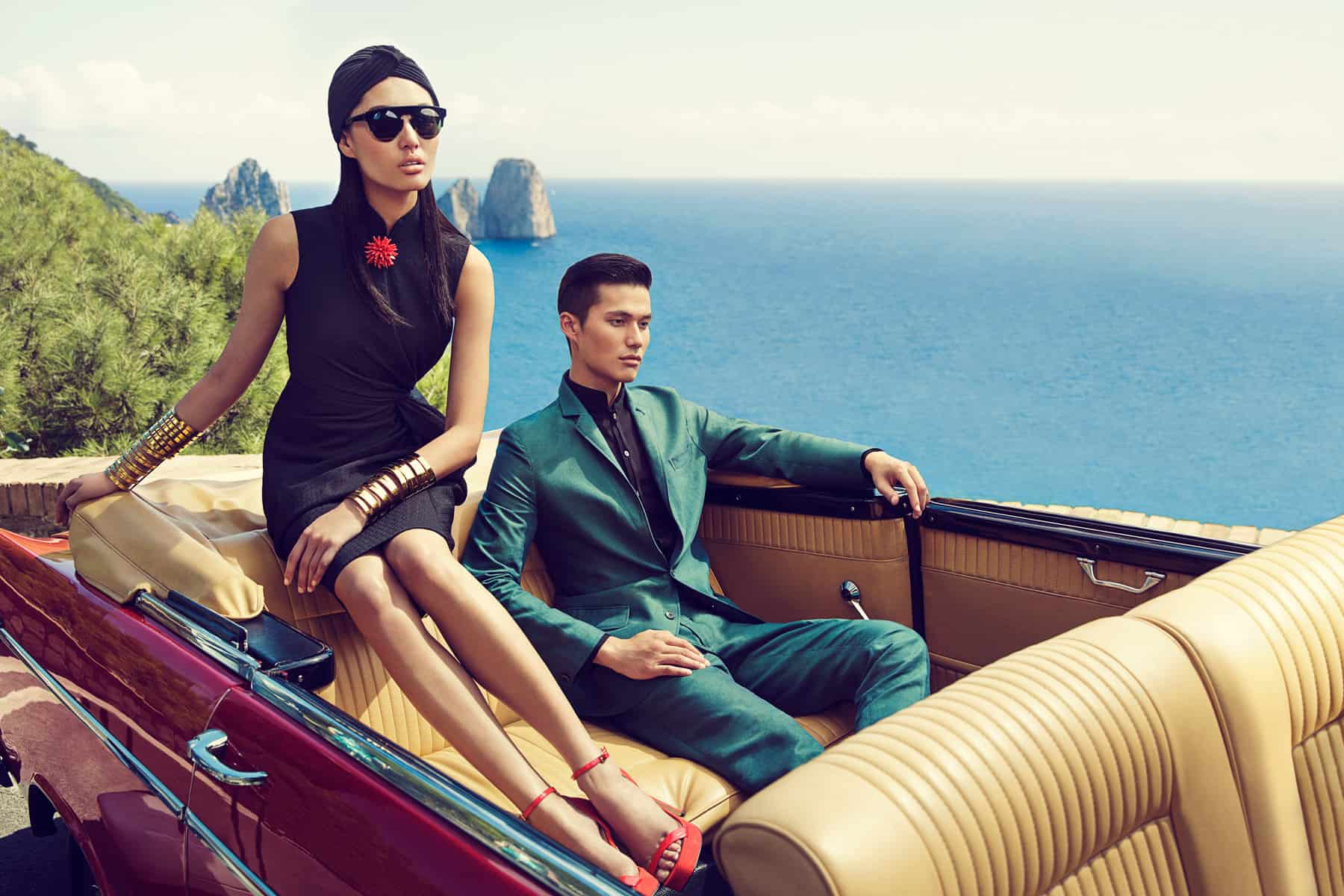 Luxury ad campaign targettig Chinese consumers