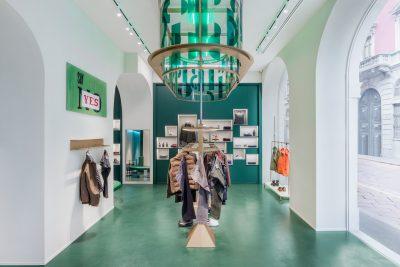 Slowear18 store, Via Solferino, Milan