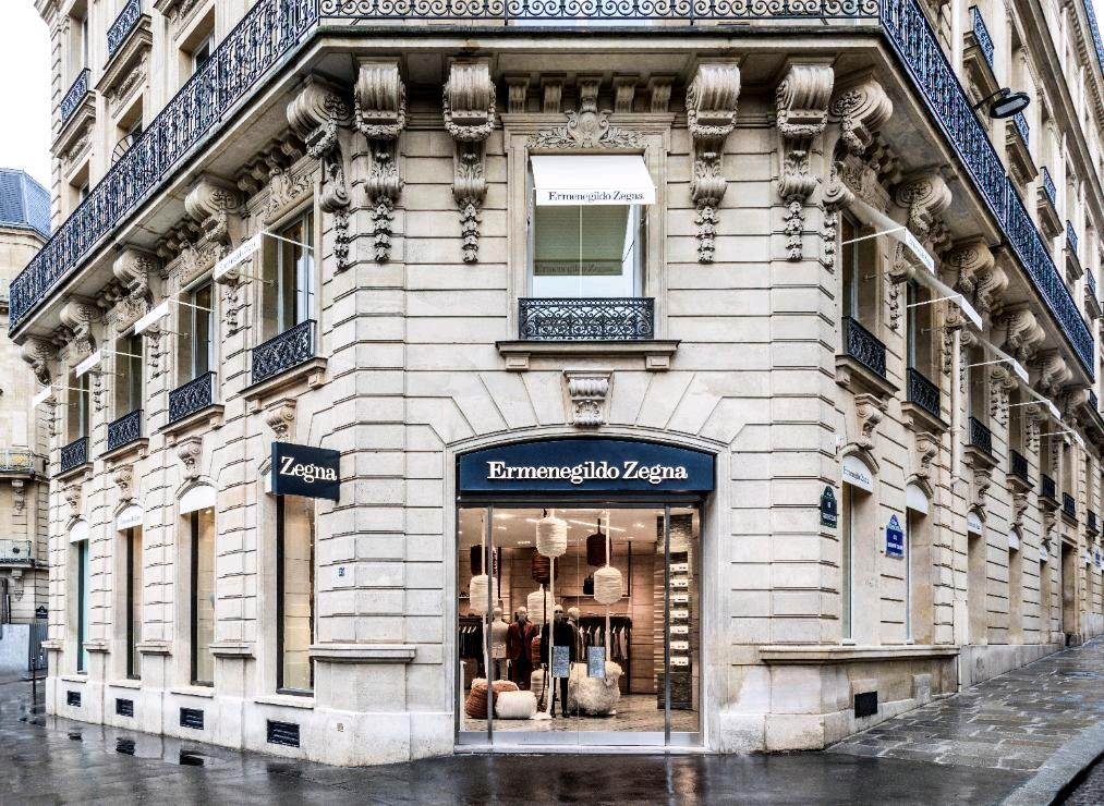 Zegna opens new flagship store in Paris at Avenue George V
