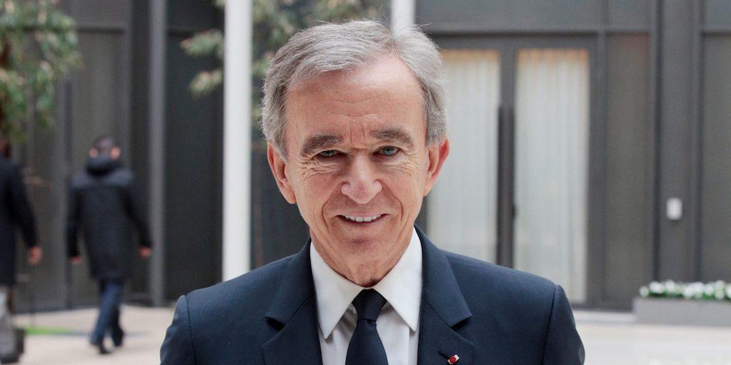 Bernard Arnault billionaire LVMH