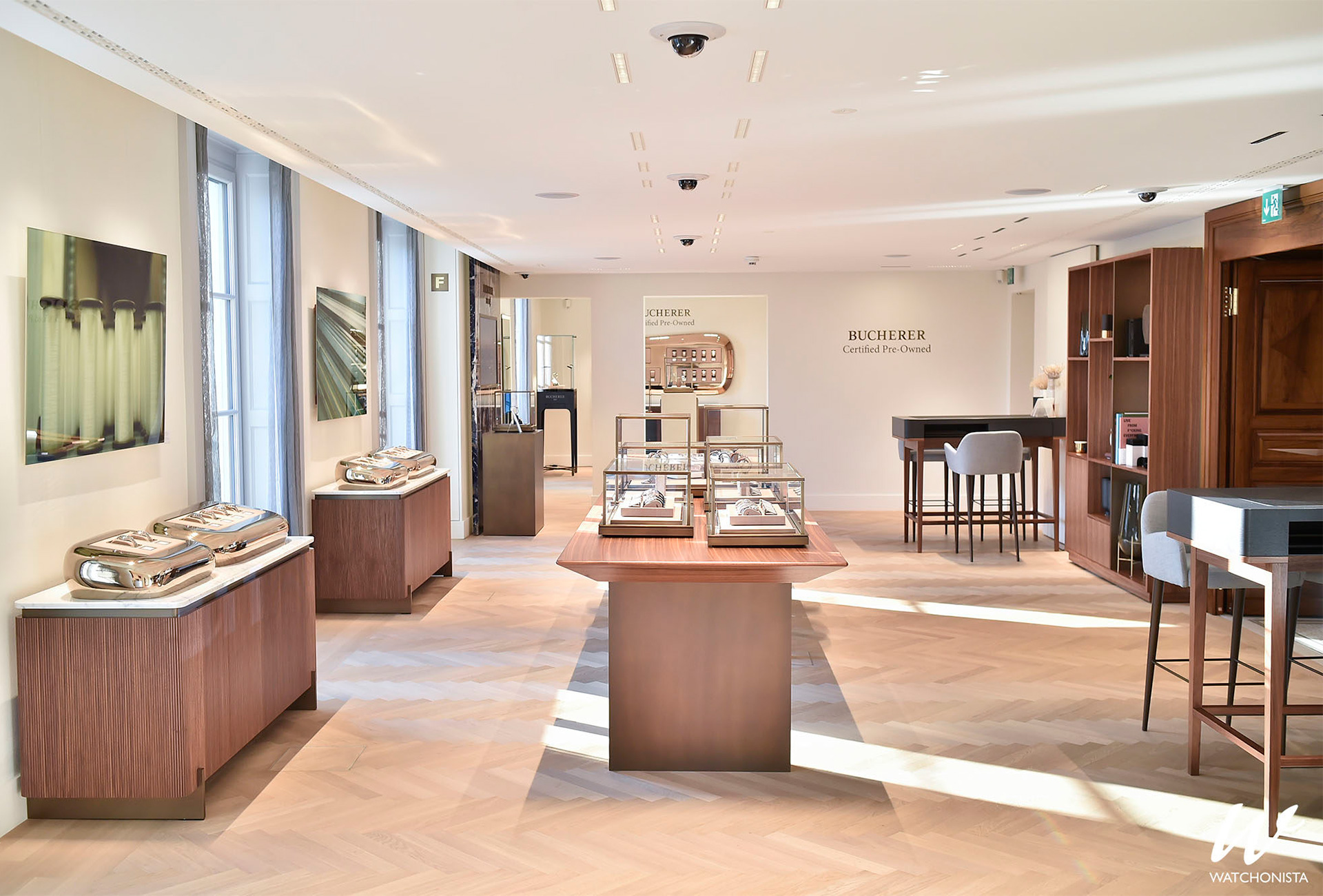 Bucherer Geneva entire floor dedicated to Certified Pre-Owned watches