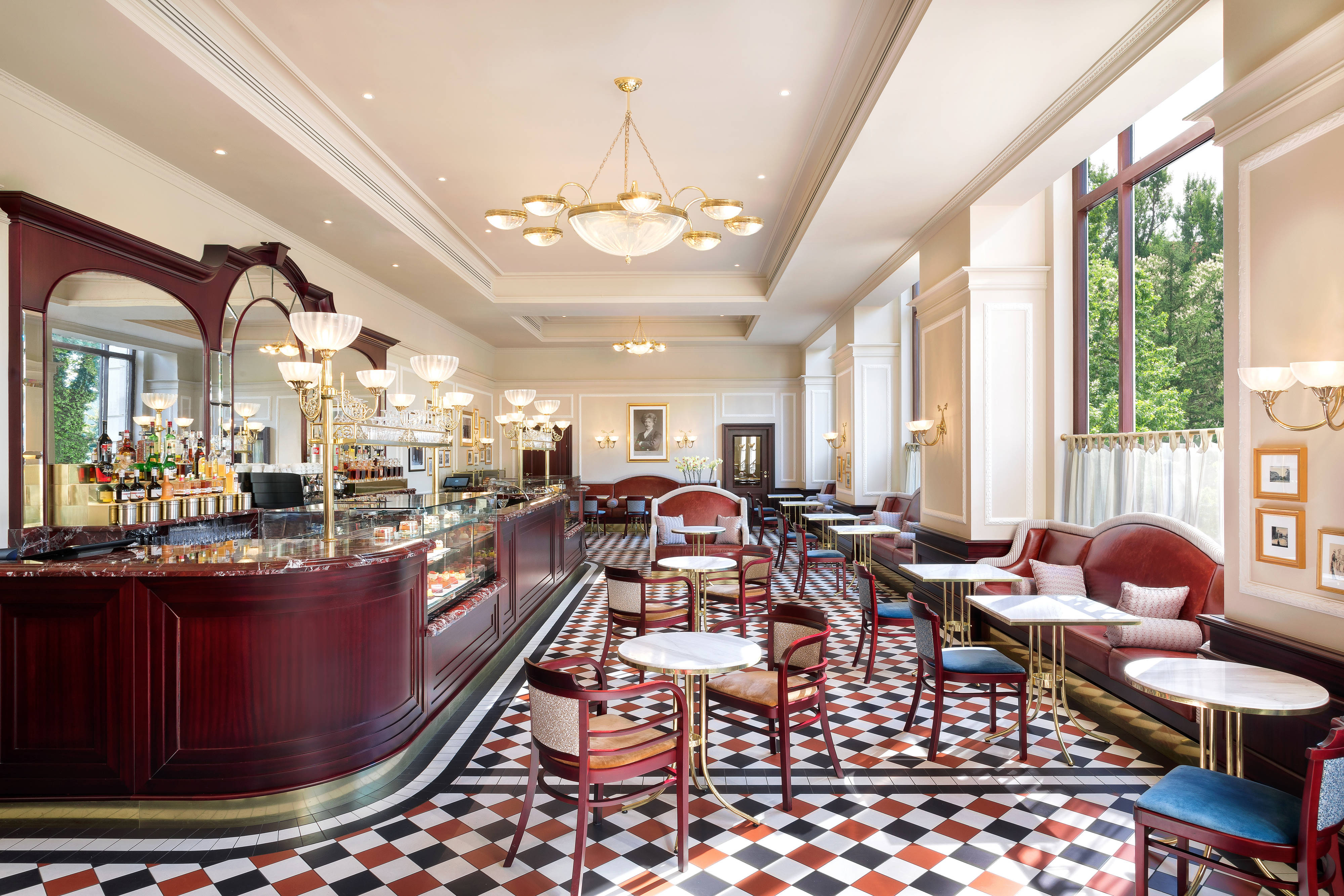 Hotel Bristol Warsaw Poland (Luxury Collection) CAFE
