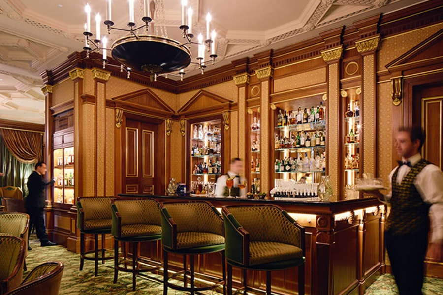 Library Bar at The Lanesborough, London