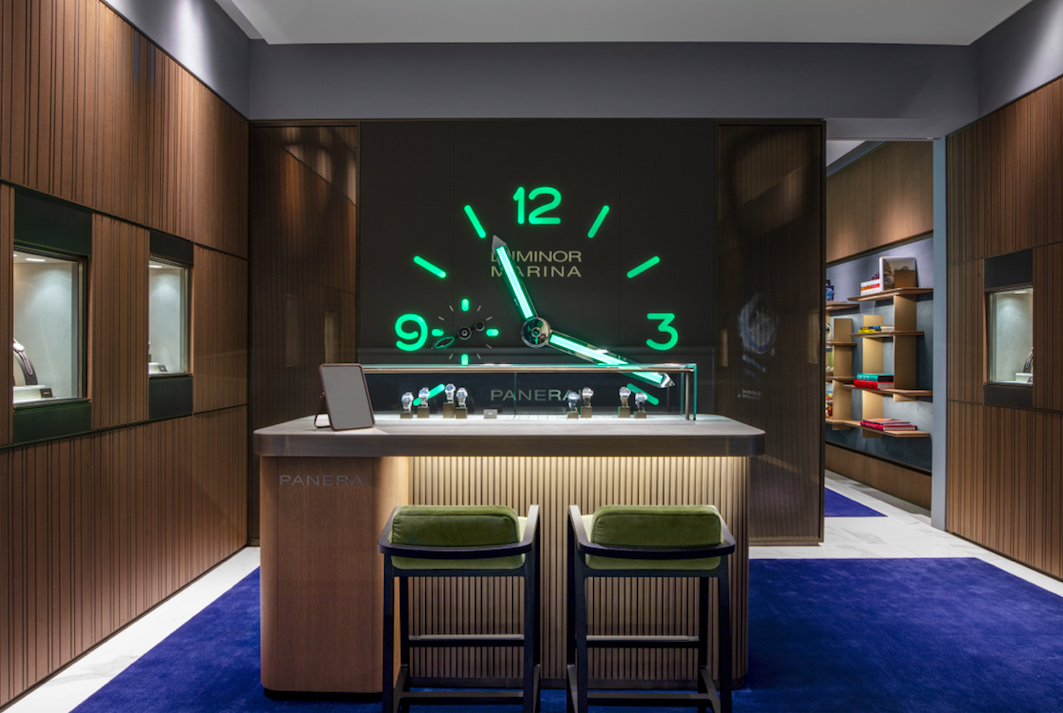 PANERAI flagship store in New York at Hudson Yards 1