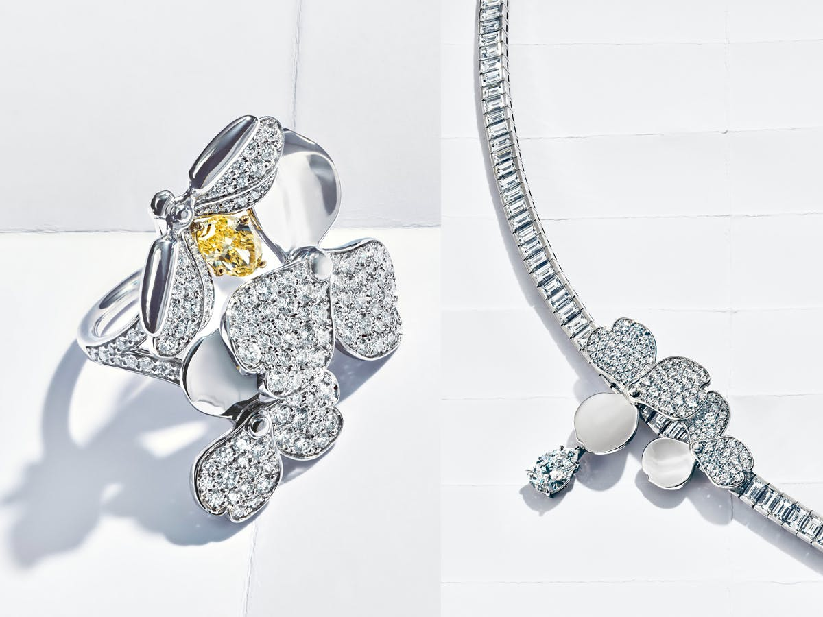 Tiffany & Co 'Paper Flowers Collection'