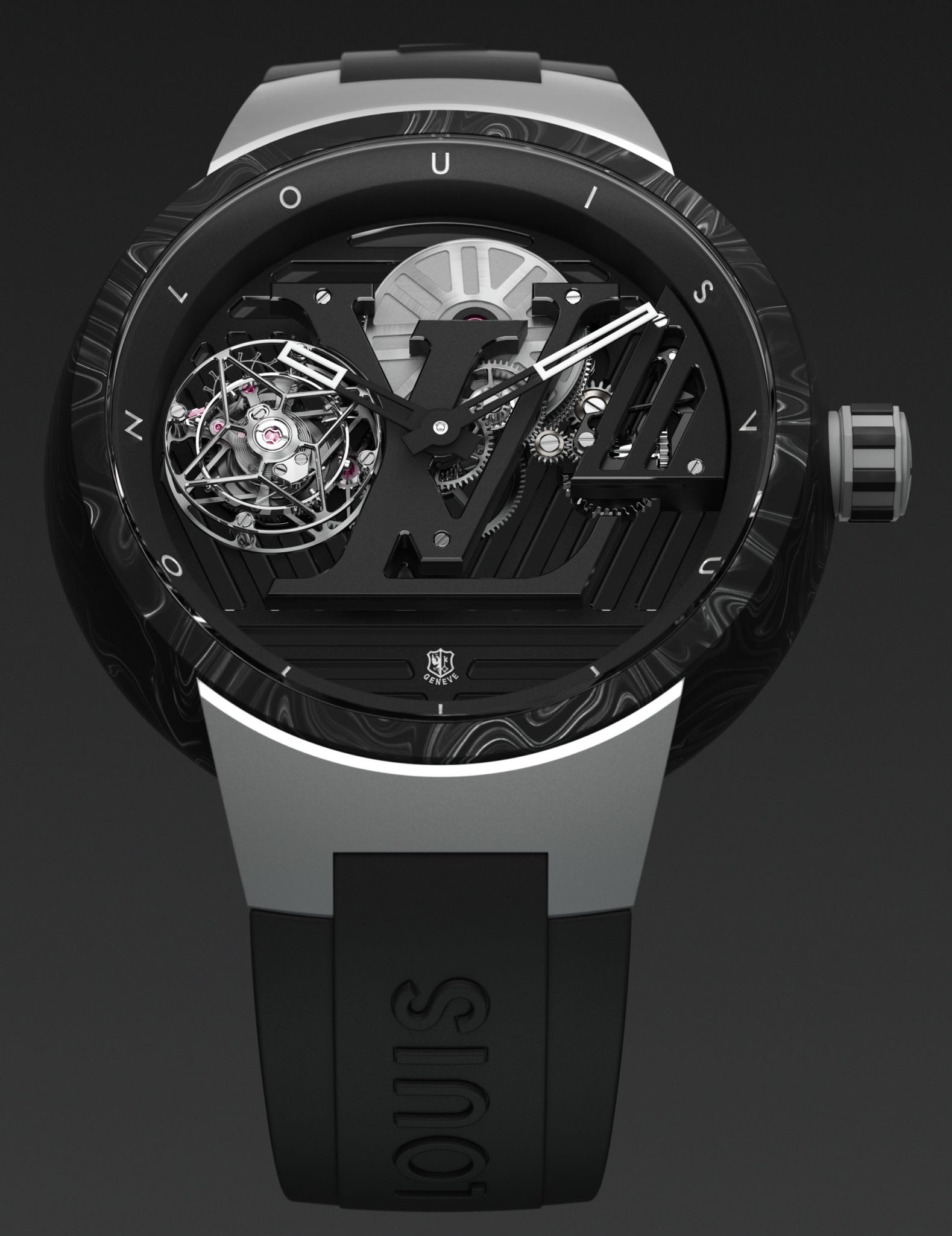 Louis Vuitton Tambour Curve Flying Tourbillon Poinçon de Genève