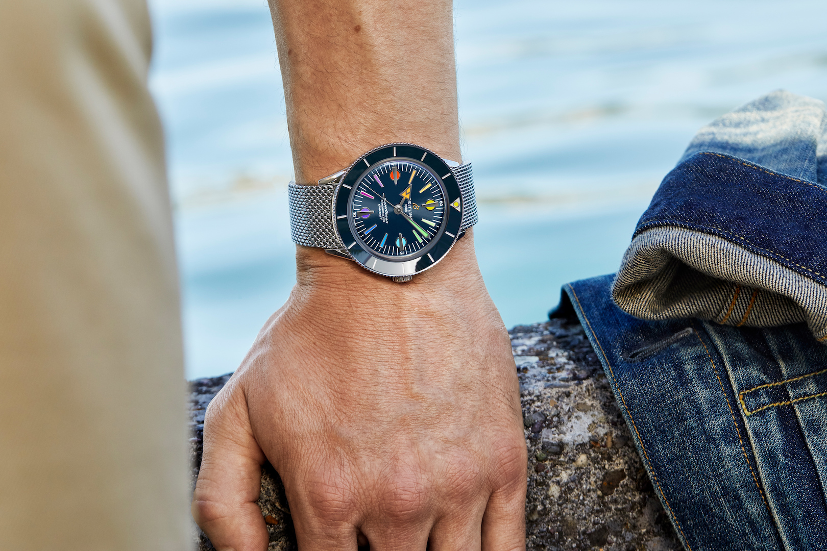 Breitling Superocean Heritage '57 Limited Edition II helping heroes in the front-lines