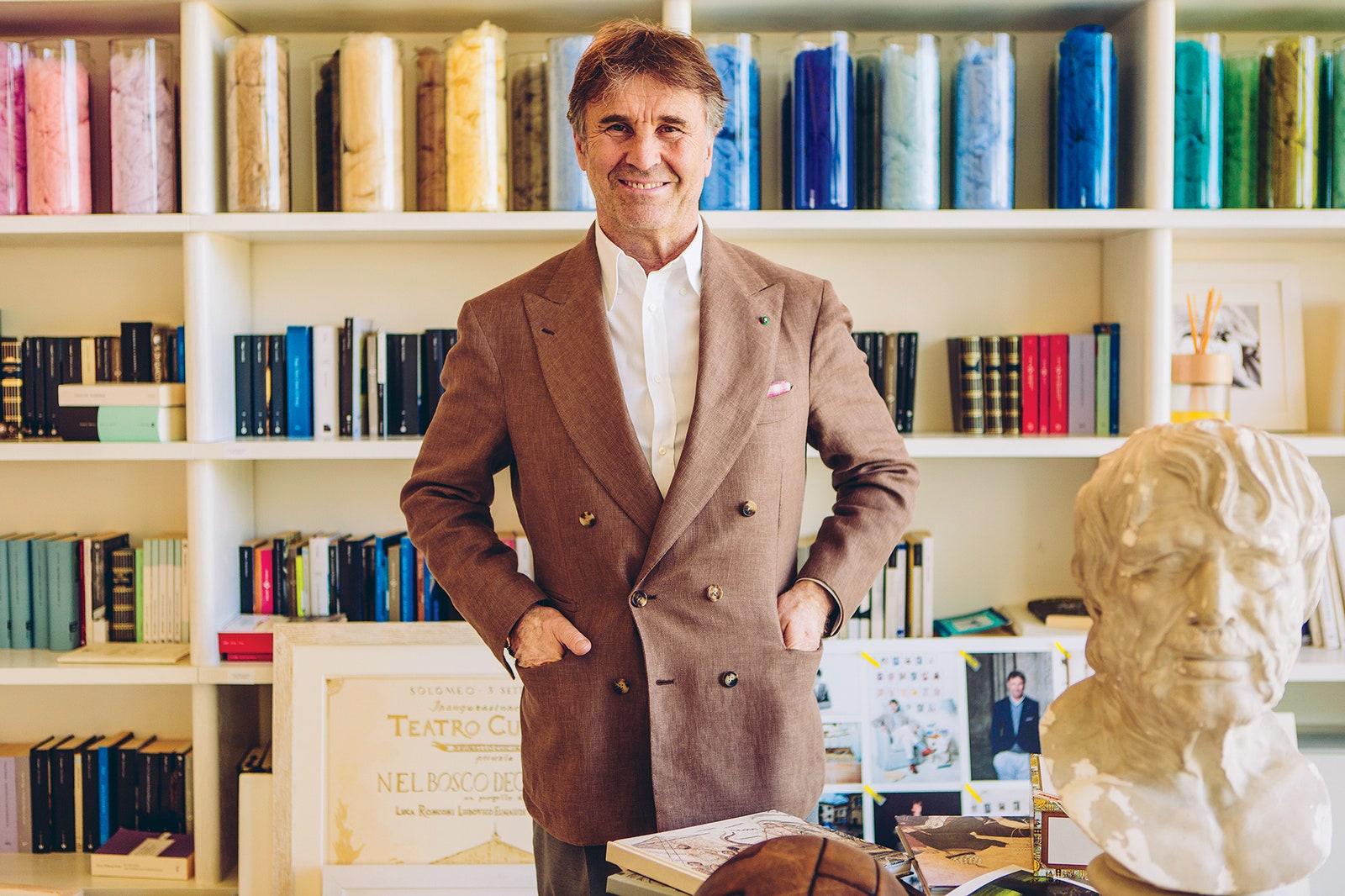 Brunello Cucinelli interview