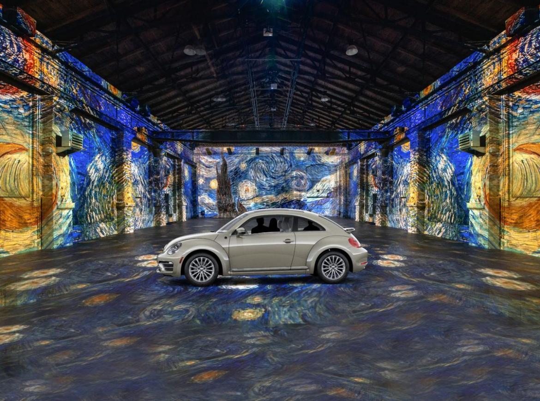 Drive-In Art Exhibition - Van Gogh paintings in Toronto
