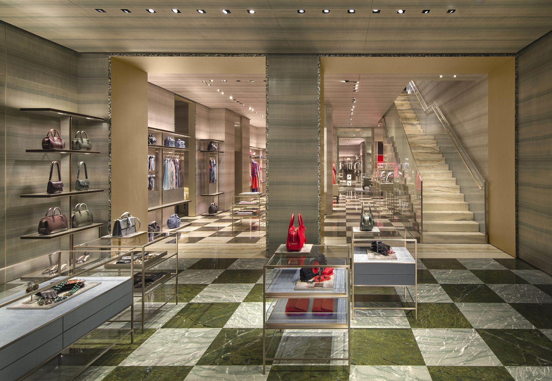 Giorgio Armani new retail design concept (Milan at Sant'Andrea)