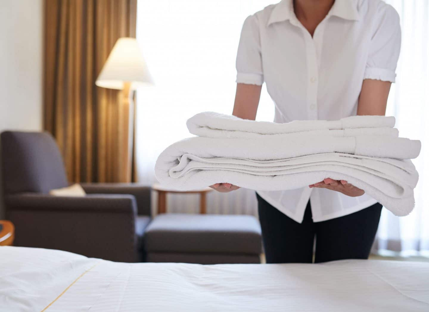 Luxury hotel housekeeping