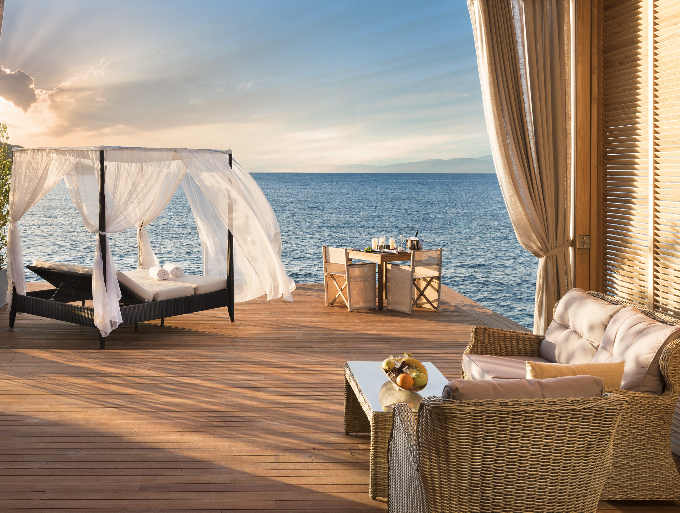 Mandarin Oriental Bodrum newly added Private Beach Cabana