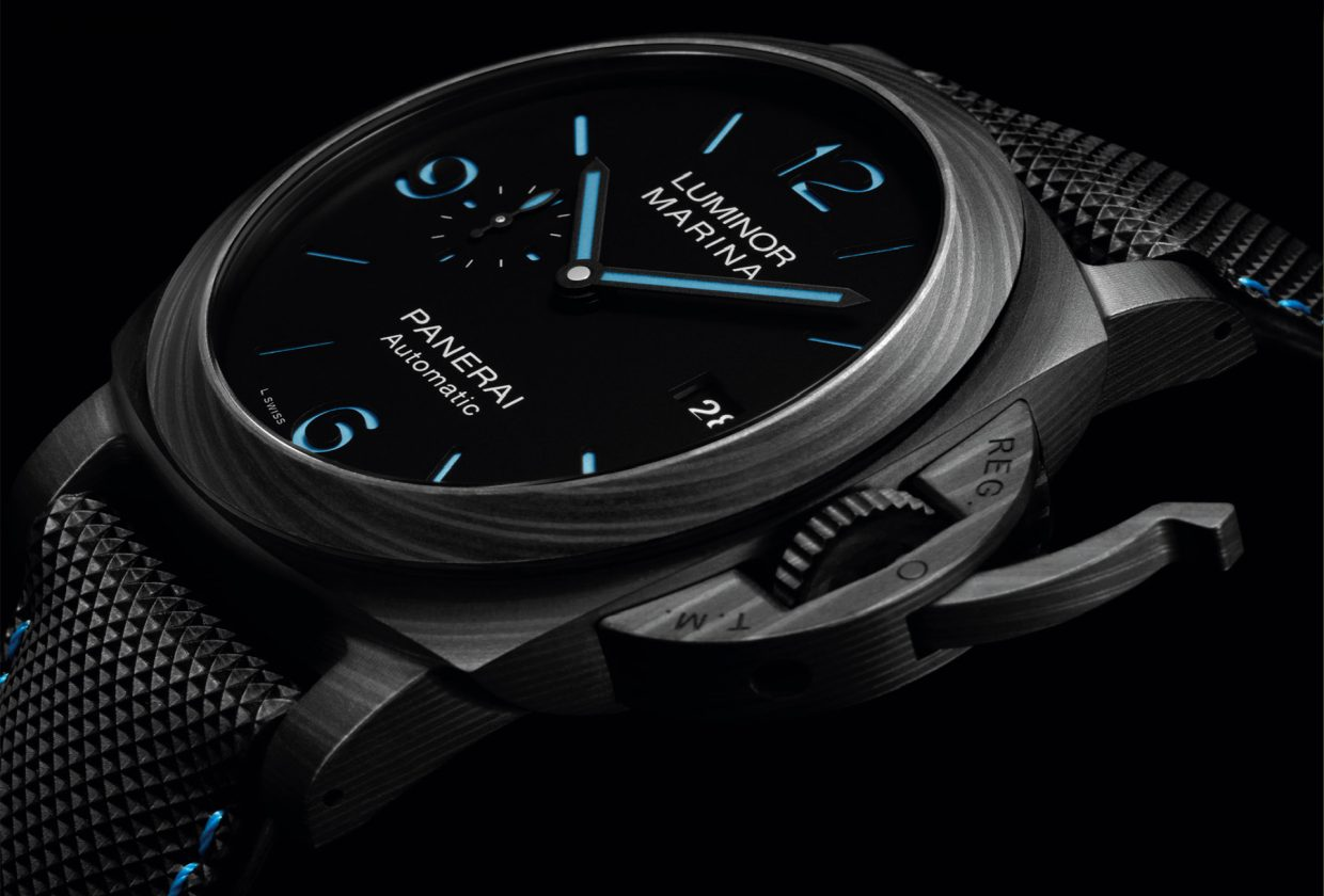 Panerai Introduces the Luminor Marina Carbotech PAM 1661 (2020 novelties)