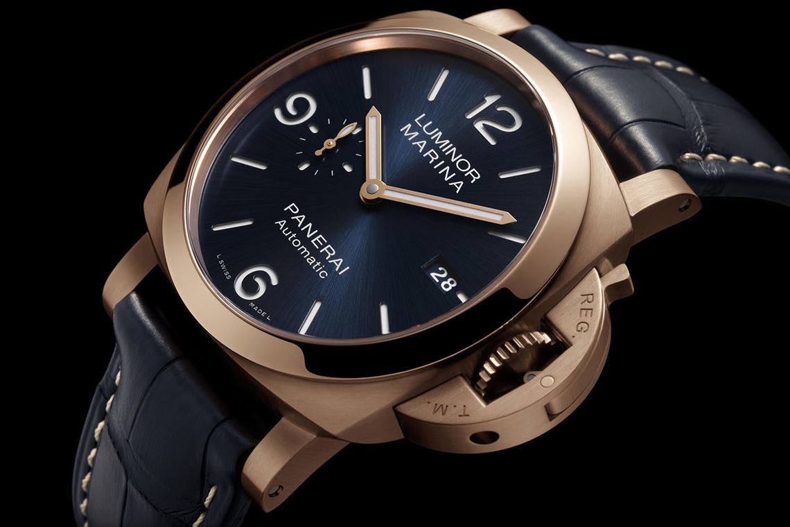 Panerai Luminor Marina Panerai Goldtech™ – PAM01112 (2020 novelties)