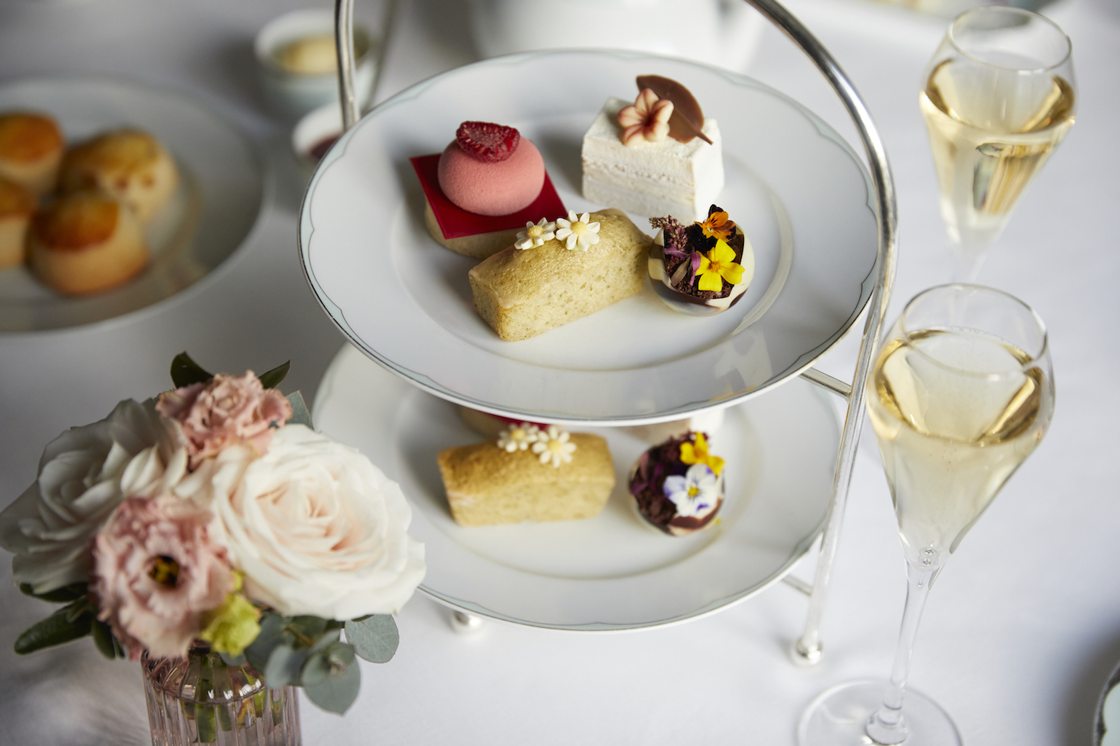 The Dorchester-RHS Chelsea Flower Show afternoon tea