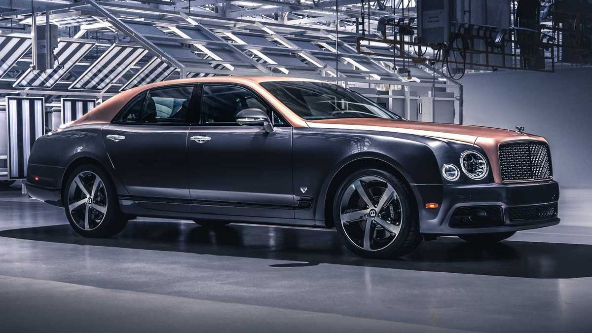 Bentley final Mulsanne model (limited edition 2020)