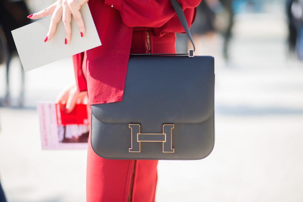 HERMES Constance bag vintage