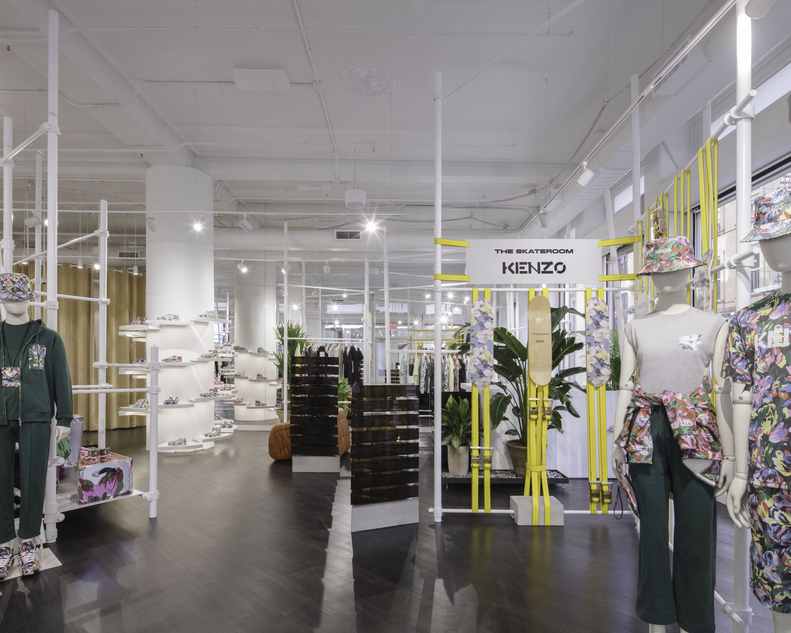 Kenzo opens new store in New York city at SoHo