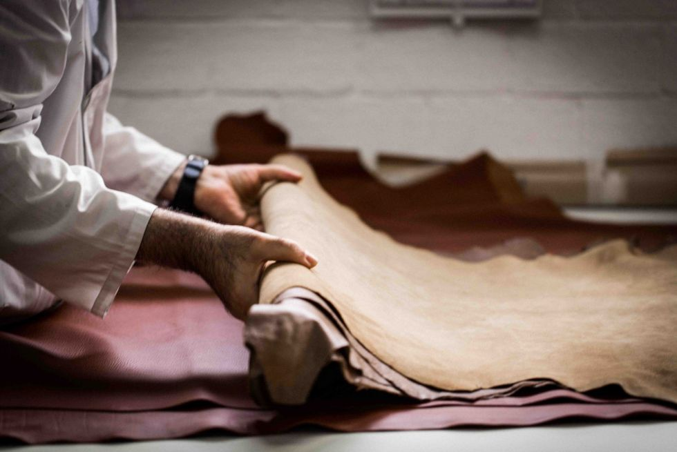 Luxury fashion manufacturing in Italy