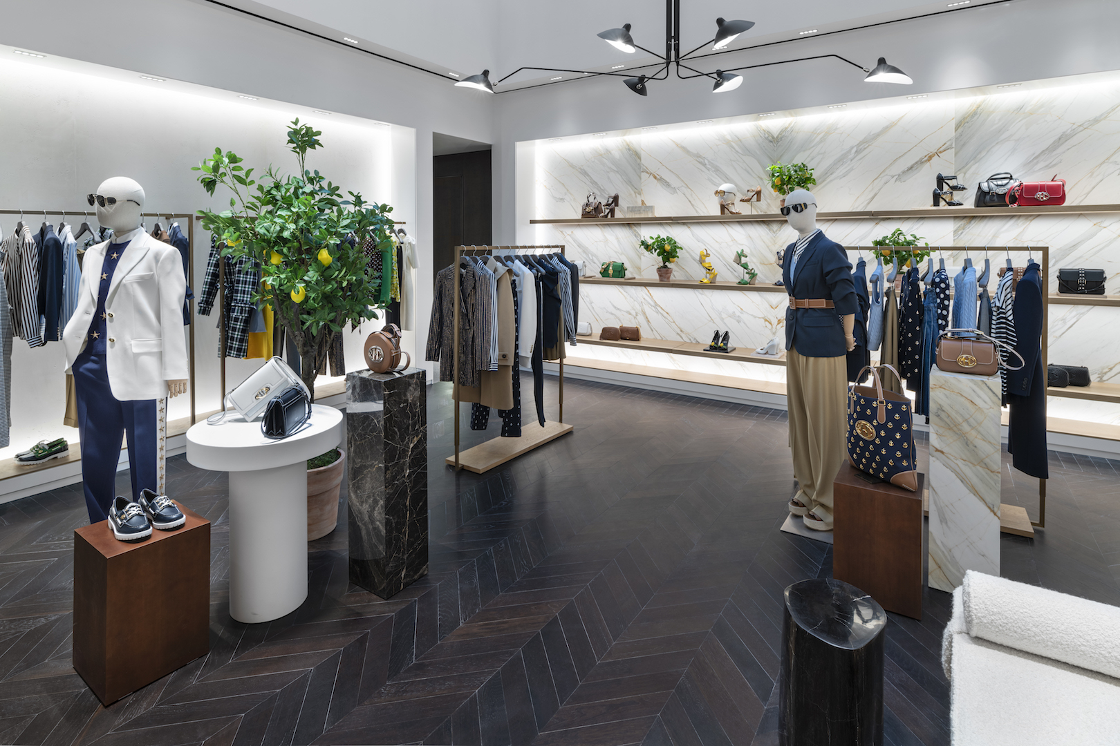 Michael Kors opens newly renovated store in Paris at Rue St Honore