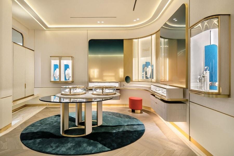 Piaget new 'Piaget Salon' store concept 2020