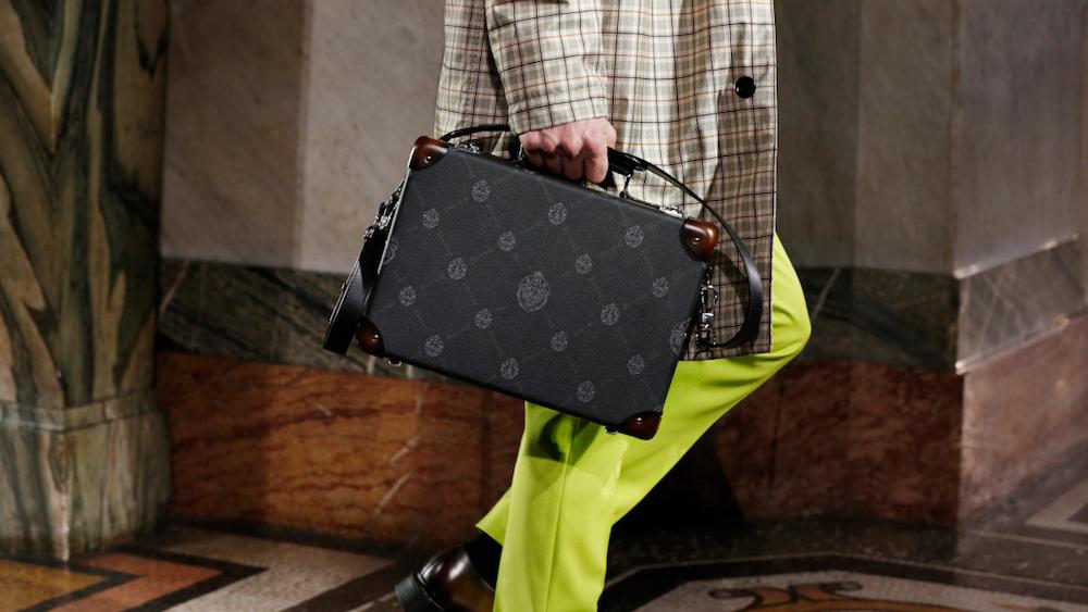 Berluti SIGNATURE Pattern handbags 2020
