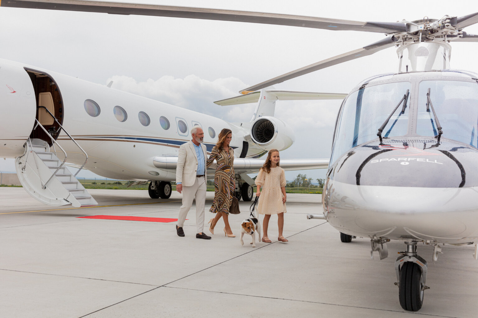 Oetker Collection partners with Sparfell for private air travel