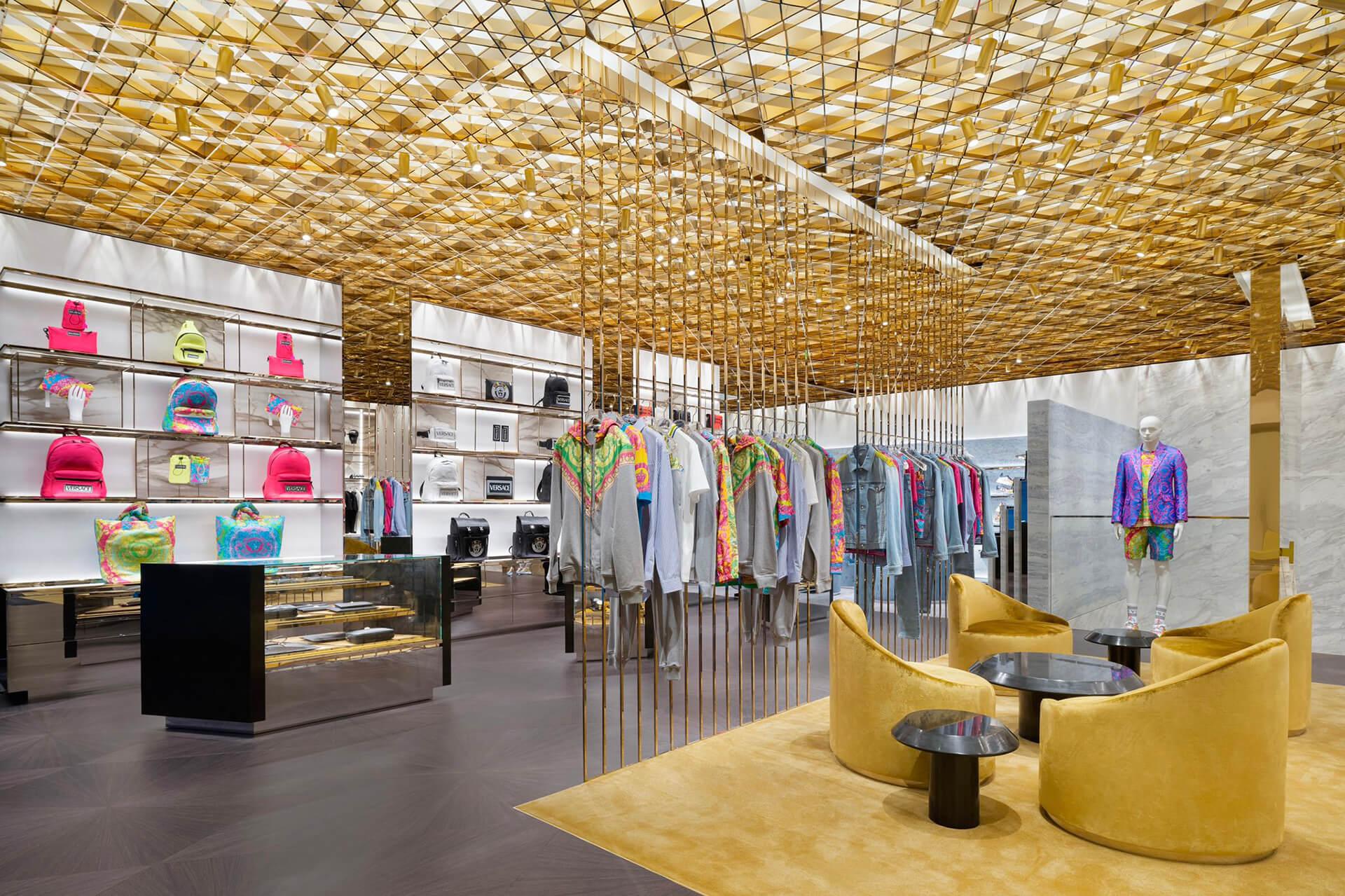 Versace store Beijing
