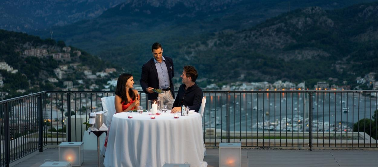 Mallorca -Romantic Dinner at Jumeirah Port Soller (Spain)