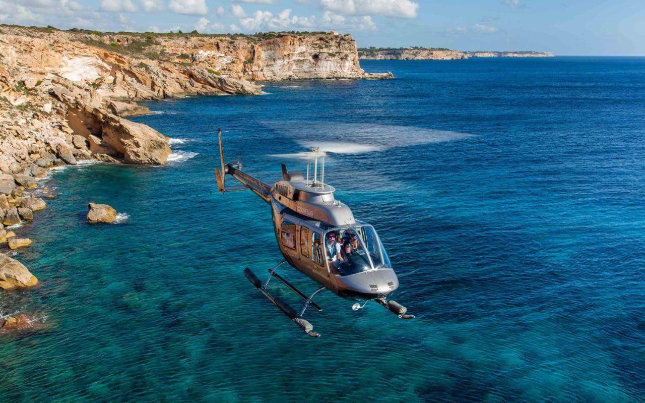 Mallorca - helicopter tour - Jumeirah Port Soller (Spain)