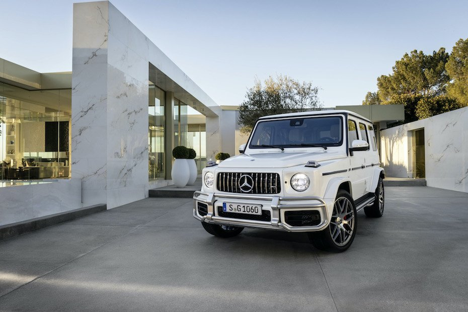 Mercedes-Benz collaborates with Virgil Abloh for G-Class SUV