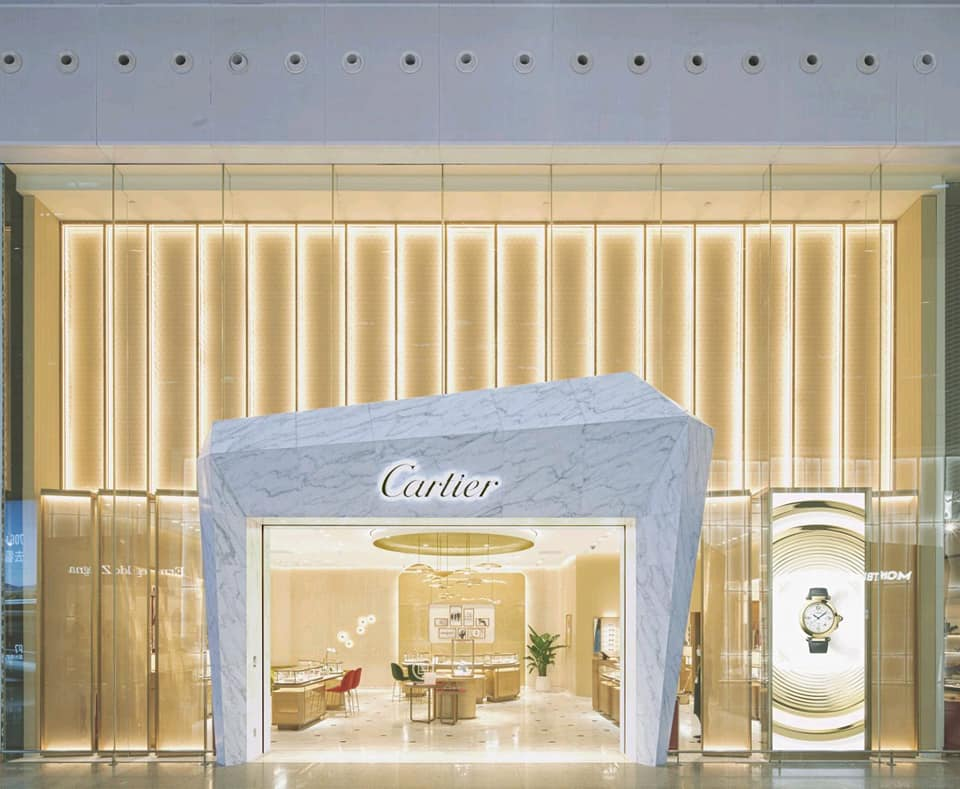 Cartier opens new boutique in at Shenzhen BaoAn Airport