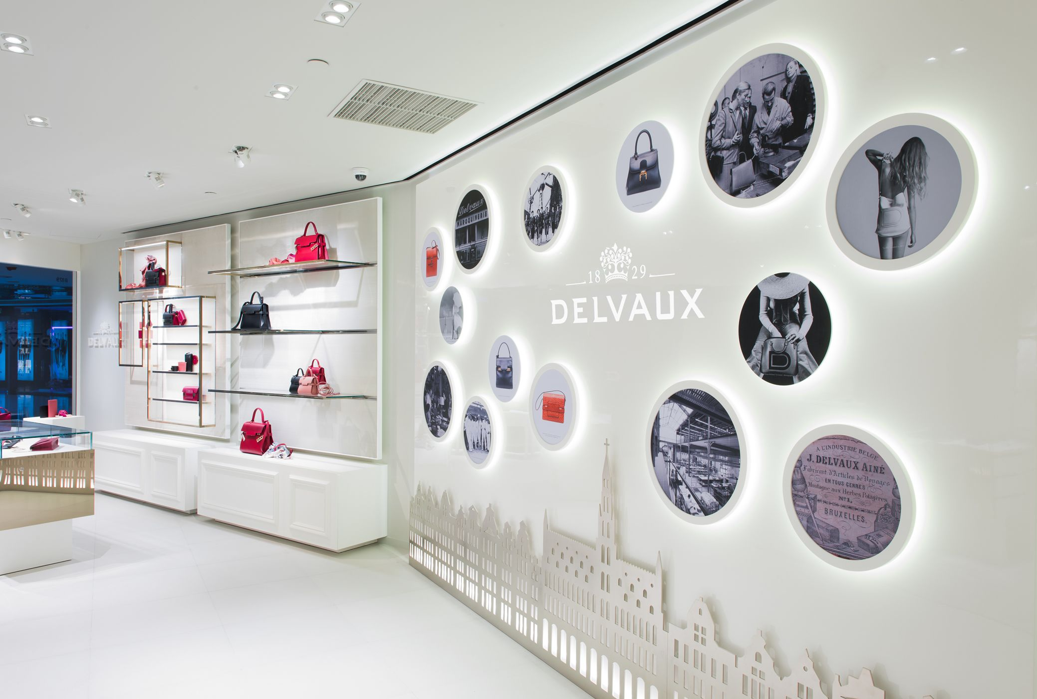 Delvaux opens new store in Shanghai at Plaza 66 Mall