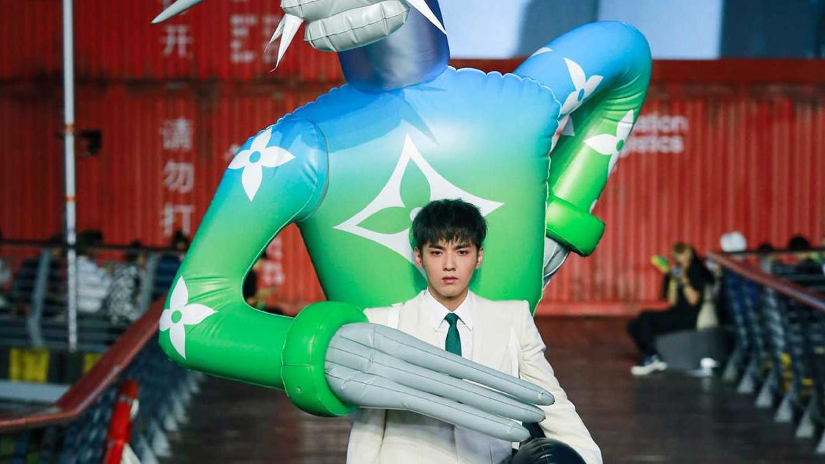 Louis Vuitton Men's Spring Summer 2021 Shanghai