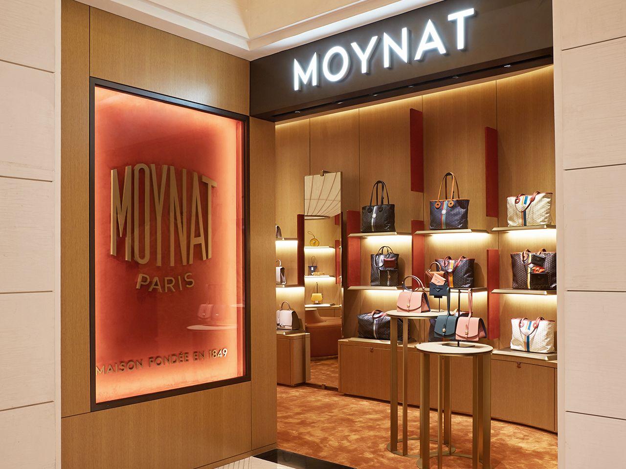 MOYNAT new store in Seoul at Shinsegae Gangnam