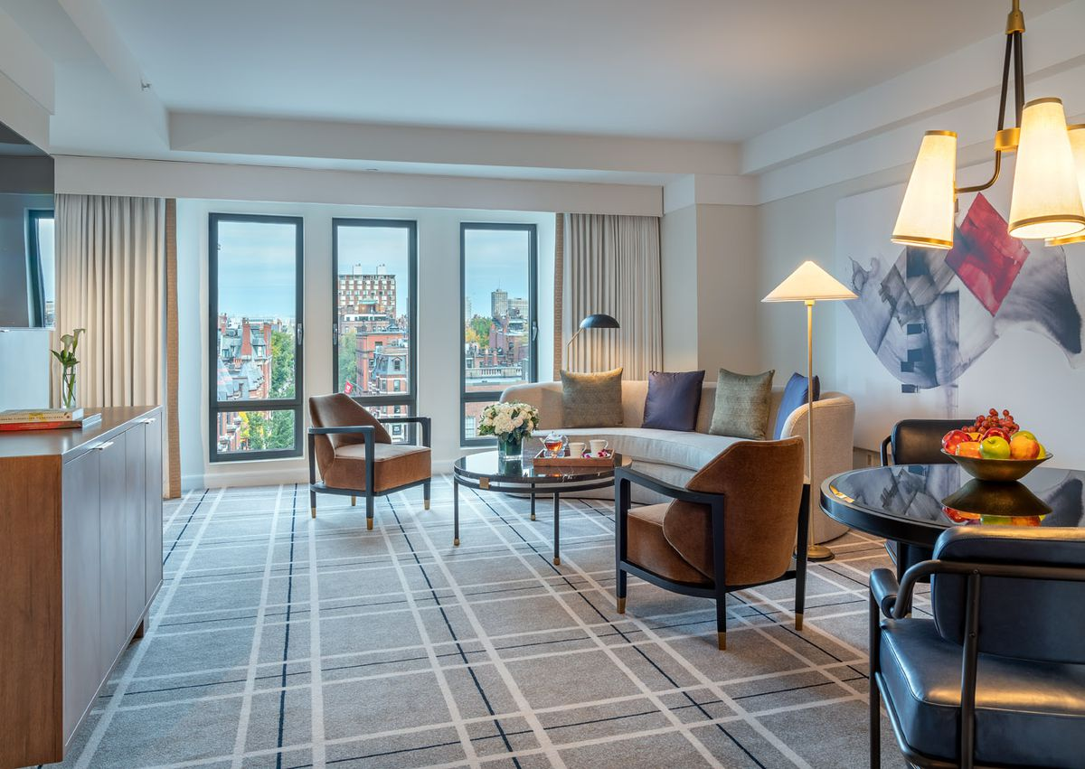 Mandarin Oriental Boston, newly renovated Premier Suite