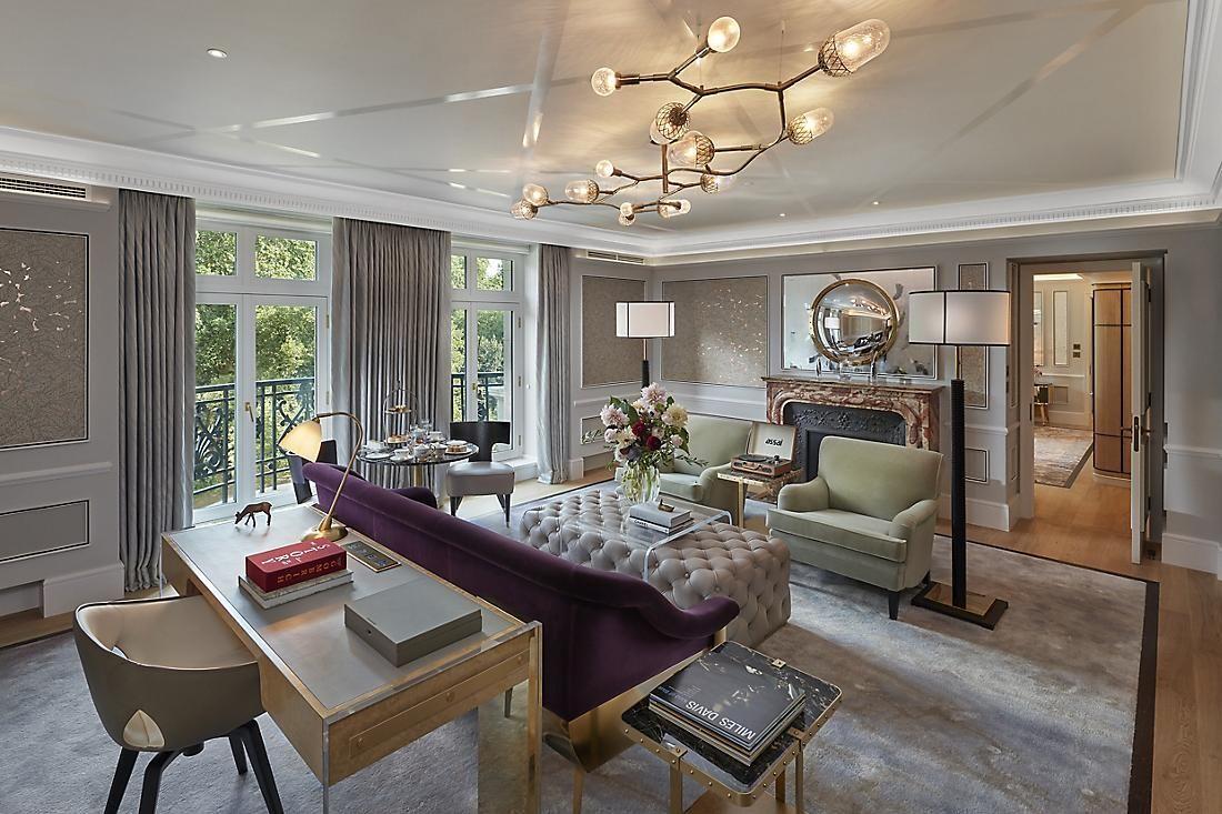 Mandarin Oriental Hyde Park, London - newly renovated Presidential Suite