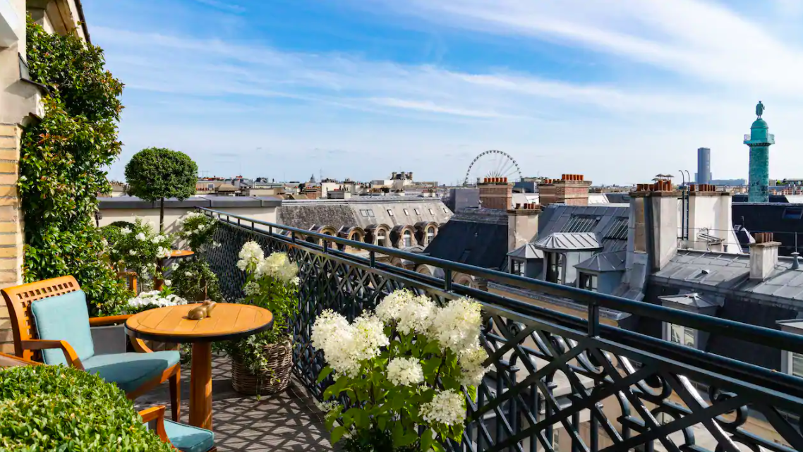 Park Hyatt Paris Vendome newly renovated