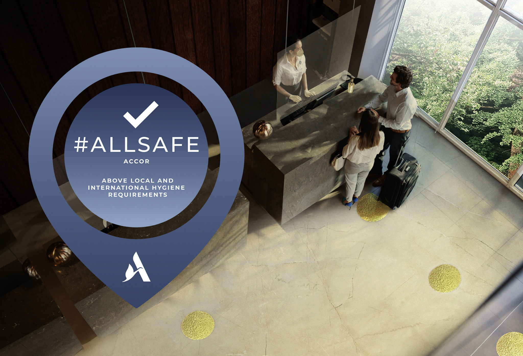Accor's ALLSAFE cleanliness and hygiene label