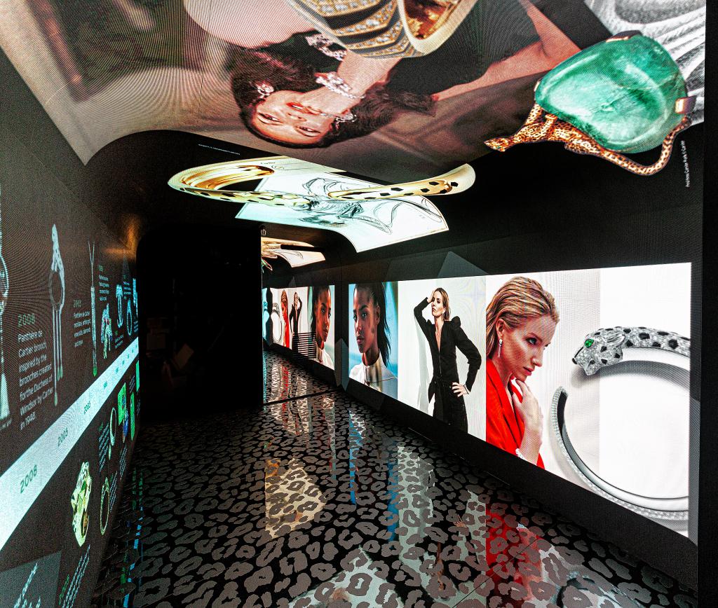 Cartier 'Panthère de Cartier' pop-up at Harrods